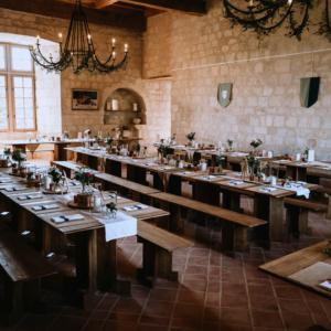 - mobilier de récéption bois - wood stock reception - gers - sud ouest