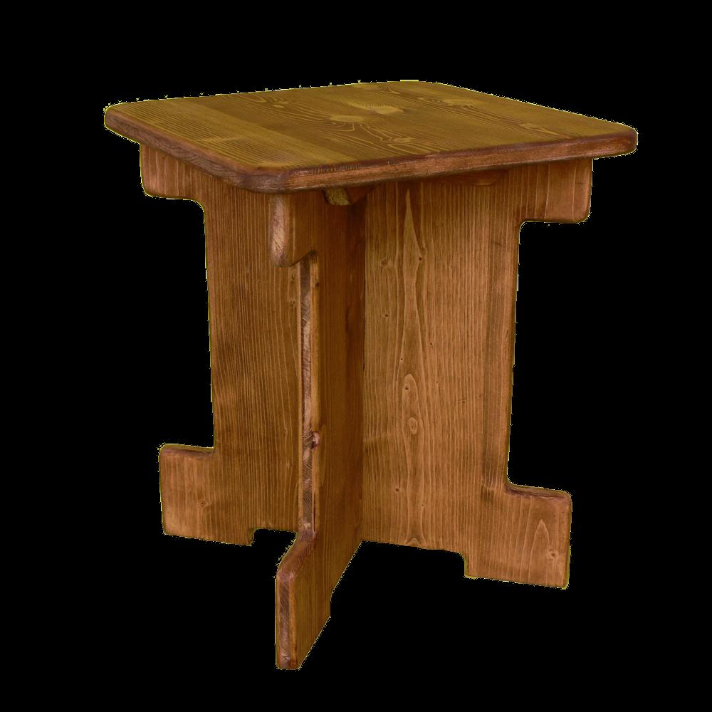 tabouret bas-petit - location moblier bois - wood stock reception - gers - sud ouest