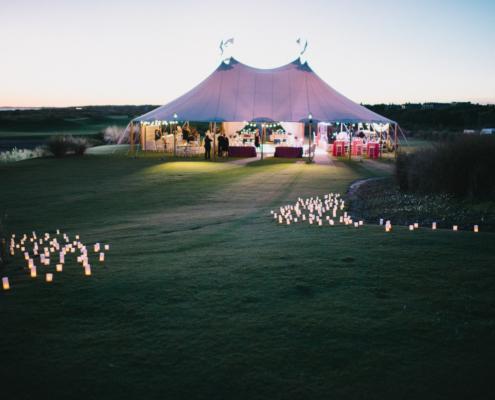 tente de réception silhouette chapiteau mariage - Wood Stock Réception - Gers - Sud Ouest