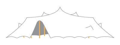 Location tente de réception stretch - Wood Stock Réception - Gers - Sud Ouest